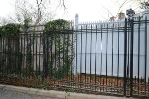 Gracie Mansion fence