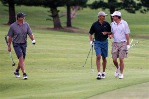Barack Obama, Bobby Titcomb, Mike Ramos
