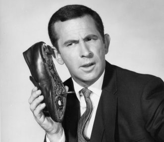 "Like Maxwell Smart's concealed phone, a shrewd deal-man will conceal his ""project"""
