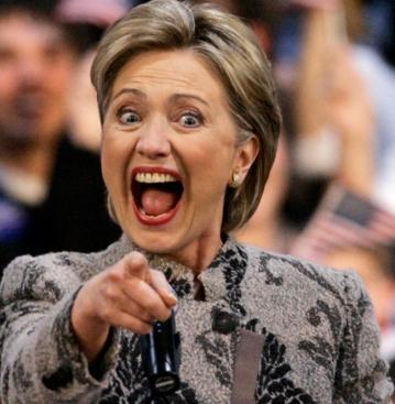 hillary-clinton-unflattering-photo-cheering